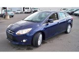 2012 Kona Blue Metallic Ford Focus SEL Sedan #86314177