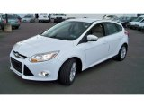 2012 Oxford White Ford Focus SEL 5-Door #86314176