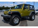 2008 Jeep Wrangler Rescue Green Metallic