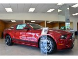 2014 Ruby Red Ford Mustang Shelby GT500 SVT Performance Package Coupe #86314260
