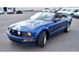 2006 Vista Blue Metallic Ford Mustang GT Deluxe Convertible #86354075
