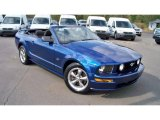 2006 Ford Mustang GT Deluxe Convertible Front 3/4 View