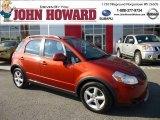 2007 Sunlight Copper Pearl Suzuki SX4 AWD #86354417