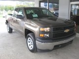 2014 Brownstone Metallic Chevrolet Silverado 1500 WT Double Cab #86354577