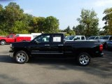 2013 Black Chevrolet Silverado 1500 LT Extended Cab 4x4 #86354568