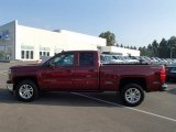2014 Deep Ruby Metallic Chevrolet Silverado 1500 LT Double Cab 4x4 #86354561