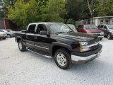2004 Black Chevrolet Silverado 1500 Z71 Crew Cab 4x4 #86354537
