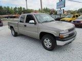 2002 Light Pewter Metallic Chevrolet Silverado 1500 LT Extended Cab 4x4 #86354534