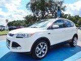 2014 White Platinum Ford Escape Titanium 1.6L EcoBoost #86354091