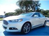 2013 Ingot Silver Metallic Ford Fusion Titanium #86354088