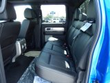 2013 Ford F150 FX4 SuperCrew 4x4 Rear Seat