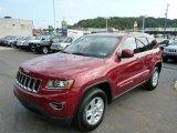 2014 Deep Cherry Red Crystal Pearl Jeep Grand Cherokee Laredo 4x4 #86354286