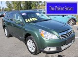 2012 Cypress Green Pearl Subaru Outback 2.5i Limited #86353918