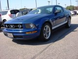 2006 Vista Blue Metallic Ford Mustang V6 Premium Coupe #86354172