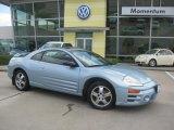 2003 Steel Blue Pearl Mitsubishi Eclipse GS Coupe #8592070
