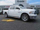 2014 Bright White Ram 1500 Big Horn Crew Cab #86401619