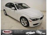 2014 Mineral White Metallic BMW 3 Series 328i Sedan #86401705