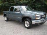 2006 Blue Granite Metallic Chevrolet Silverado 1500 Z71 Crew Cab 4x4 #86401899