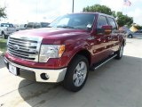 2013 Ruby Red Metallic Ford F150 Lariat SuperCrew #86401316