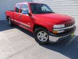 1999 Victory Red Chevrolet Silverado 1500 LS Extended Cab #86401680