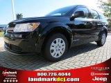 2014 Pitch Black Dodge Journey Amercian Value Package #86401491