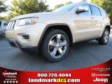 2014 Cashmere Pearl Jeep Grand Cherokee Limited #86401484