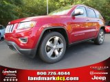 2014 Deep Cherry Red Crystal Pearl Jeep Grand Cherokee Limited #86401483