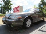 Charcoal Grey Metallic Lincoln Town Car in 2003
