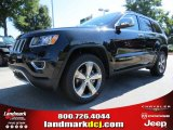 2014 Brilliant Black Crystal Pearl Jeep Grand Cherokee Limited #86401481