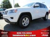 2014 Bright White Jeep Grand Cherokee Laredo #86401479