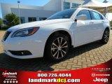 2014 Bright White Chrysler 200 Touring Sedan #86401467