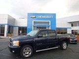 2011 Imperial Blue Metallic Chevrolet Silverado 1500 LTZ Crew Cab 4x4 #86401584