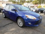 2012 Blue Candy Metallic Ford Focus SEL 5-Door #86401963