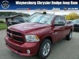 2014 Deep Cherry Red Crystal Pearl Ram 1500 Express Quad Cab 4x4 #86401654