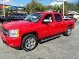 2011 Victory Red Chevrolet Silverado 1500 LTZ Crew Cab 4x4 #86401858