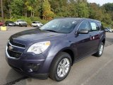 2014 Atlantis Blue Metallic Chevrolet Equinox LS AWD #86401571