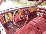 1983 Cadillac DeVille Interiors