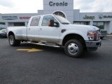 2010 Oxford White Ford F350 Super Duty Lariat Crew Cab 4x4 Dually #86401626