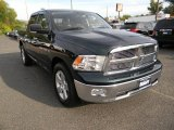 2011 Hunter Green Pearl Dodge Ram 1500 SLT Crew Cab 4x4 #86401756