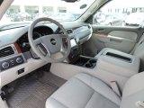 2013 Chevrolet Silverado 1500 LTZ Crew Cab 4x4 Light Titanium/Dark Titanium Interior