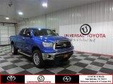 2010 Blue Streak Metallic Toyota Tundra Double Cab #86401331