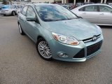 2012 Frosted Glass Metallic Ford Focus SEL 5-Door #86401731