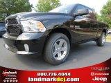 2014 Black Ram 1500 Express Quad Cab 4x4 #86450877