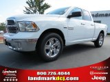 2014 Bright White Ram 1500 SLT Quad Cab #86450875