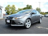 2014 Sterling Gray Ford Focus Titanium Sedan #86451107
