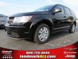2014 Pitch Black Dodge Journey Amercian Value Package #86450863