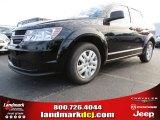 2014 Pitch Black Dodge Journey Amercian Value Package #86450862