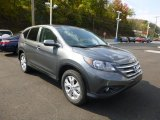 2014 Polished Metal Metallic Honda CR-V EX AWD #86451208