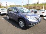 2014 Twilight Blue Metallic Honda CR-V EX AWD #86451205