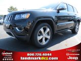 2014 Brilliant Black Crystal Pearl Jeep Grand Cherokee Limited #86450850